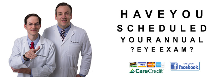 Have you scheduled your annual eye exam?